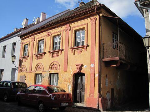 dům ze 17. století