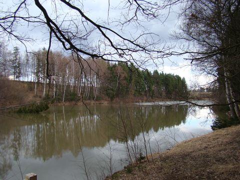 jeden z brodských rybníků