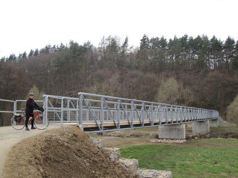 most přes Jihlavu blízko Fretychova mlýna