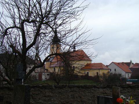 kostel Vąech svatých ve Staré Řísi