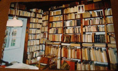 knihovna dříve