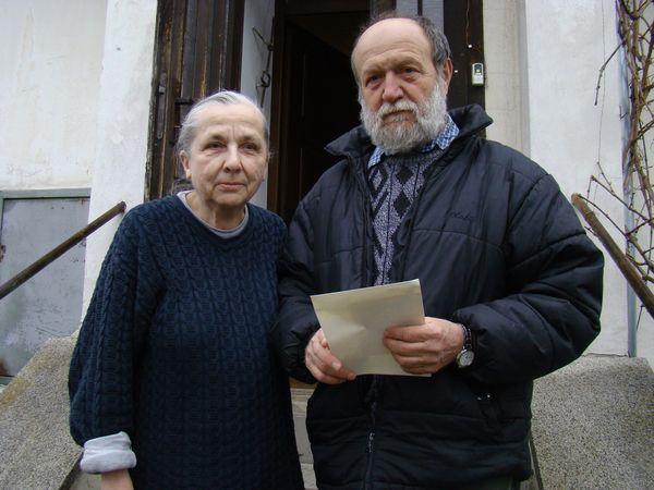 Juliana Jirousová a Josef Poukar