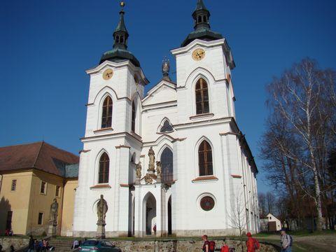 klásterní kostel v Zelivi