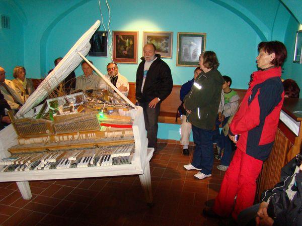v Domě GM je i výstava z děl jeho praneteře They Weltner