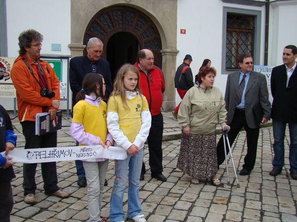 hovoří předsedkyně turistů z Vysočiny Marie Vincencová