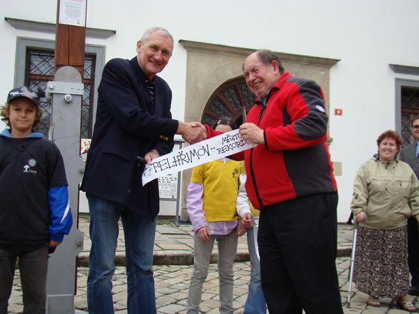 starosta Pelhřimova s místopředsedou KČT