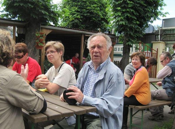 Milan Hlína, autor vycházky