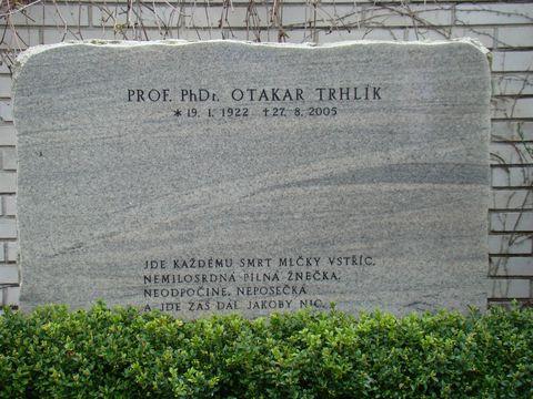 hrob dirigenta Otakara Trhlíka