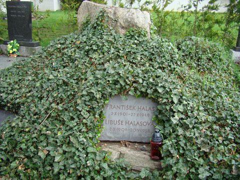 hrob Frantiąka Halase