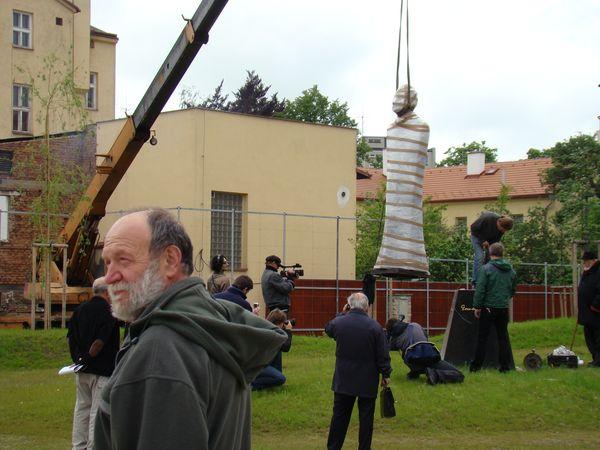 předseda Společenství za zřízení pomníku Gustava Mahlera má dnes velký den