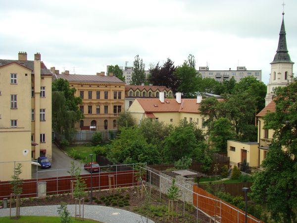 park z rozhledny na hradbách 2