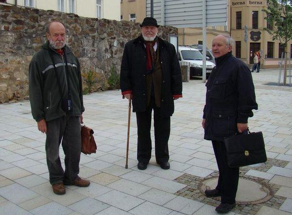 Josef Poukar, Jan Koblasa, Ivan Zlůva