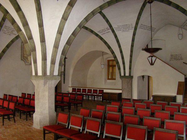 gotický sál radnice