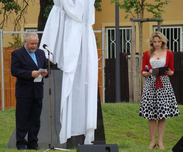 JUDr. Jiří Simánek, člen výboru Společenství za zřízení pomníku Gustava Mahlera