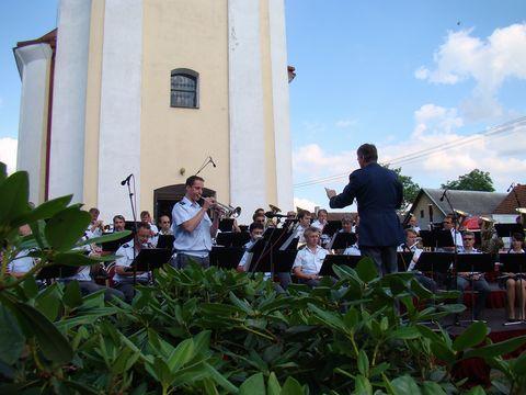 dechová hudba hrála koncert podle programu z roku 1875