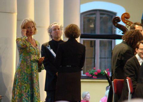 Anne Sofie von Otter a dirigent Manfred Honeck