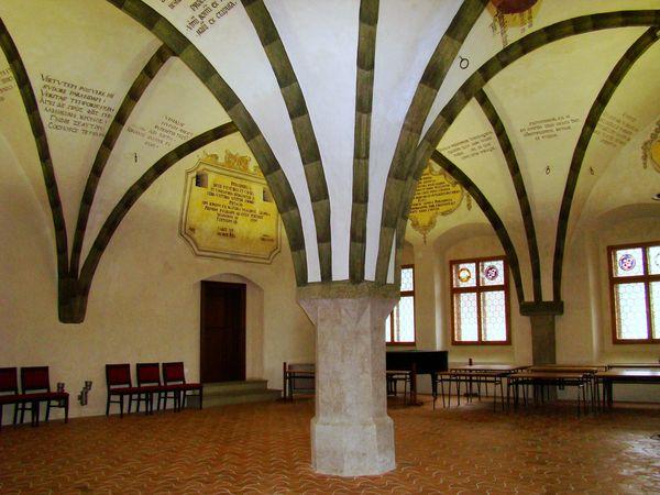 gotický sál jihlavské radnice