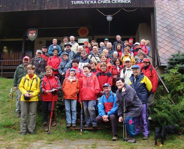 cvičitelé turistiky z oblasti Vysočina