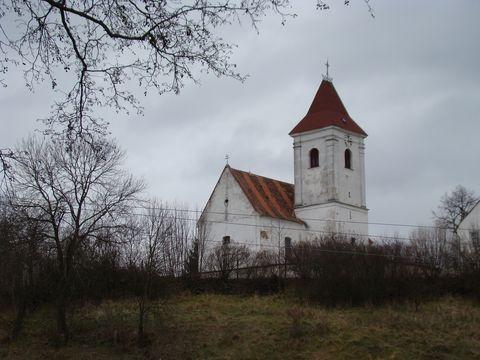kostel sv. Jana Křtitele v Urbanově
