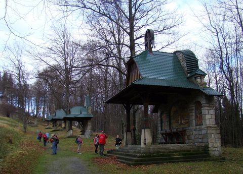 křízová cesta Dusana Jurkoviče na Hostýně