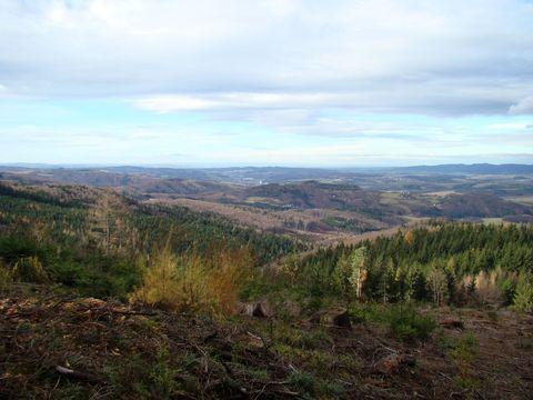 výhledy na Vizovické vrchy