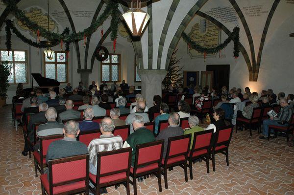 25. 11. 2010 v gotické síni jihlavské radnice