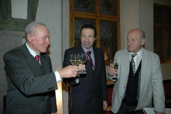 přípitek na úspěchy jihlavských turistů