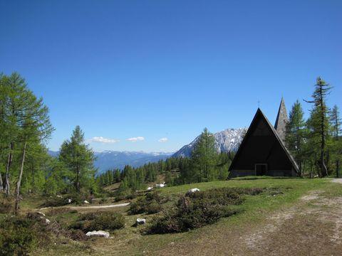 kaple na Tauplitzalm