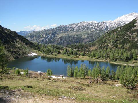 Großsee od lanovky na Tauplitzalm
