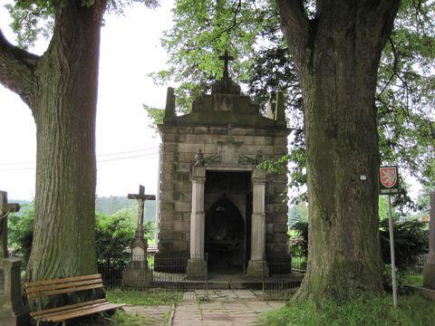 Nussbaumova hrobka v Jamném