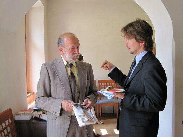 s tiskovým mluvčím radnice Radkem Tulisem