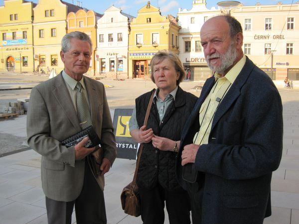 na náměstí v Havlíčkově Brodě