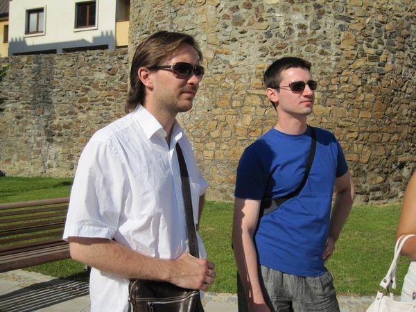 dva účastníci dirigentských kurzů