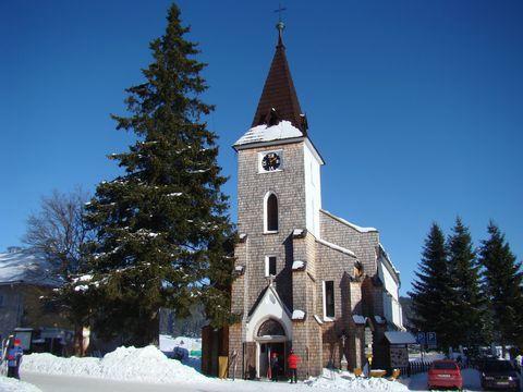 kostel sv.Stěpána, dominanta Kvildy