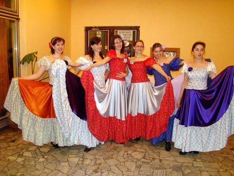 tanečnice z Bonanzy