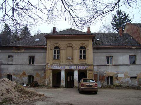 bývalé lázně Petrkov