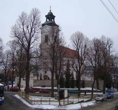 kostel sv.Petra a Pavla v Tasově