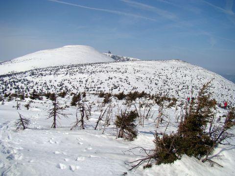 Vysoké kolo a Sněžné jámy