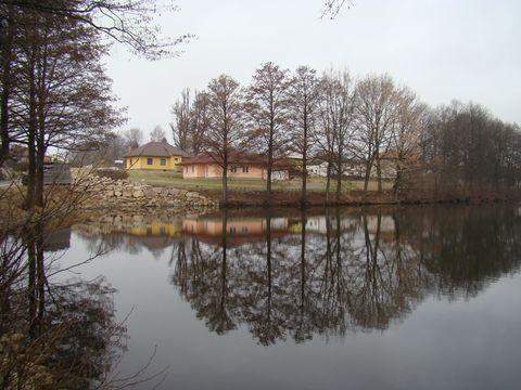 rybník v Knyku