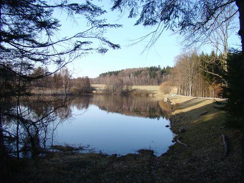 rybník u Popic