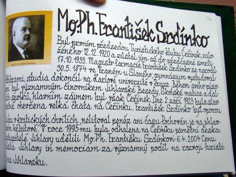 osobnost z TK Čeřínek, na niž jsme hrdí