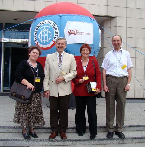 delegáti oblasti KČT Vysočina v Pardubicích