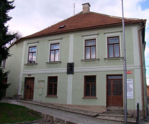 dům, kde bydlíval Franz Kafka