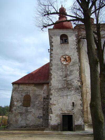 kostel v Přibyslavicích