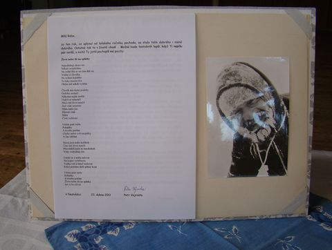 dopis Bobu Čechovi