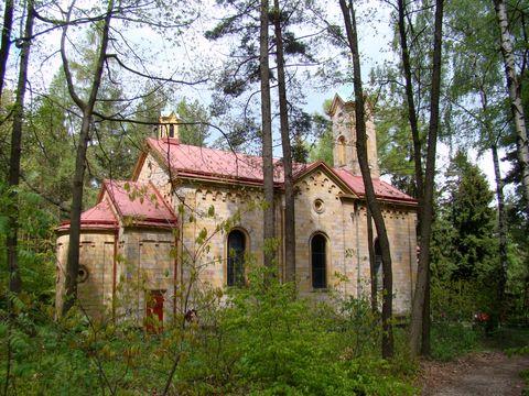 kaple U Studánky Panny Marie poblíž Kocléřova