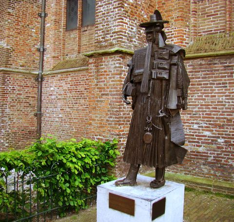 socha v De Rijp