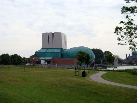 nové kulturní centrum na okraji Hoornu