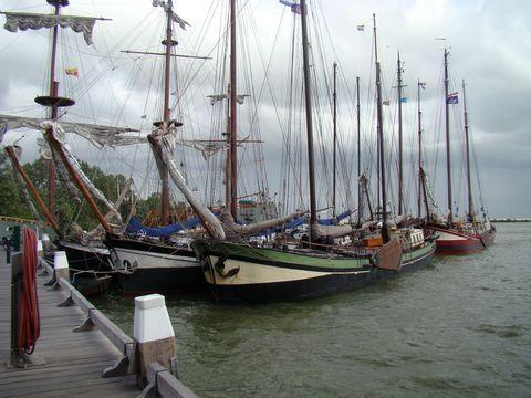podvečer v přístavu Hoorn