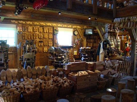 výroba dřeváků